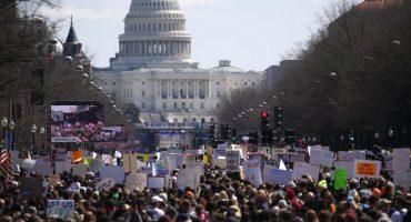 Así se vive la marcha #MarchForOurLives en ciudades de Estados Unidos