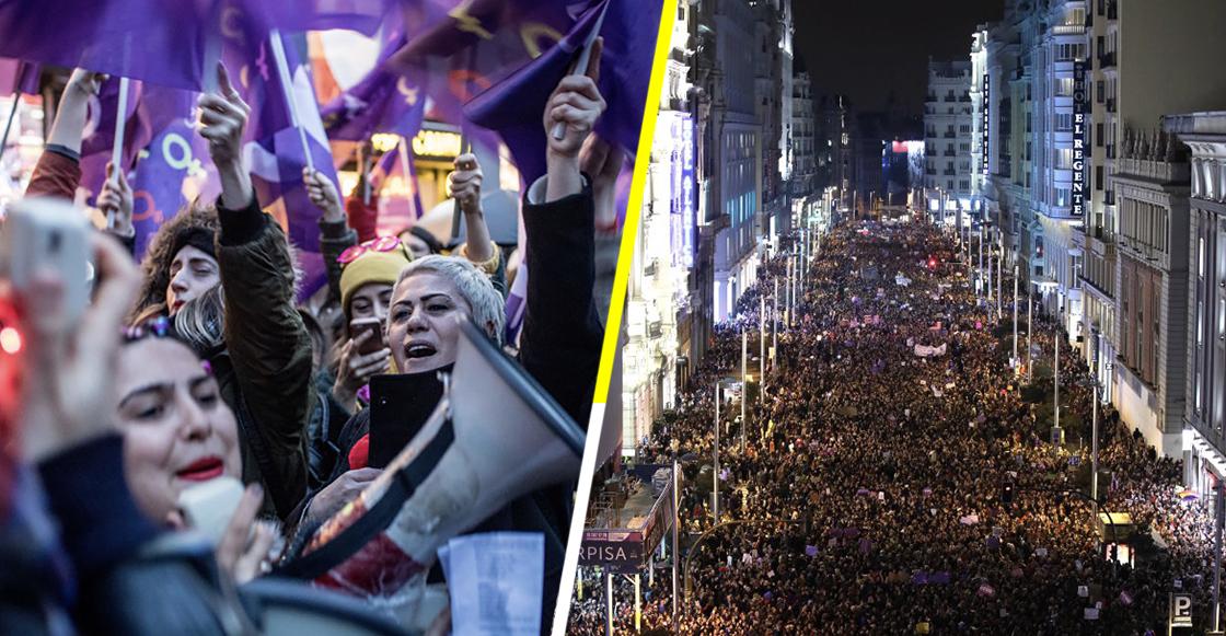 En el Día Internacional de la Mujer, así se manifestaron millones de mujeres alrededor del mundo