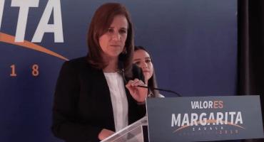 Dice Margarita Zavala que le 'sembraron' firmas falsas