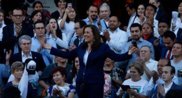 Margarita Zavala solicita su registro ante INE y dice que renunciará a financiamiento público