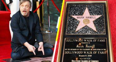 Jedi Day! Mark Hamill recibe su estrella en el Paseo de la Fama de Hollywood