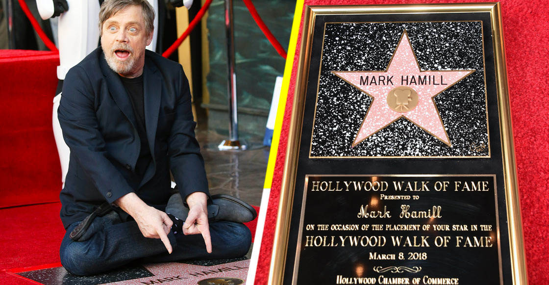 Jedi Day! Mark Hamill recibe su estrella en el Paseo de la Fama de Hollywood