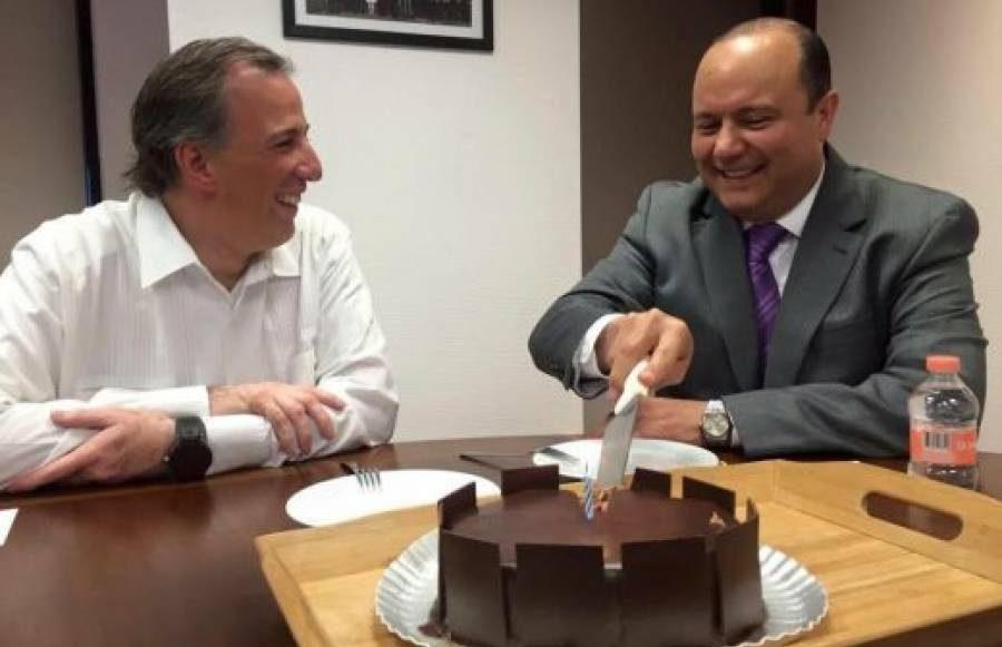 José Antonio Meade y César Duarte repartiendo el pastel