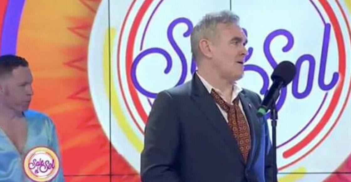 ¿Bravou? Morrissey se presentó en la tele mexicana y sí, las reacciones no se hicieron esperar