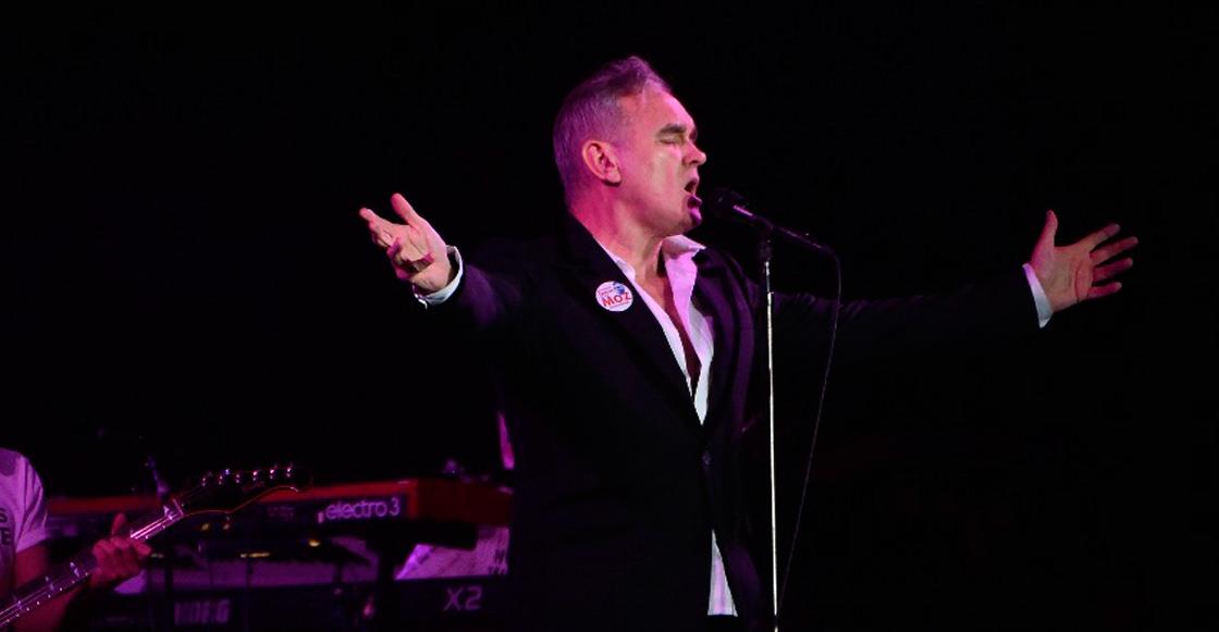 ¡No canceló! Acá las fotos y setlist de Morrissey en el Vive Latino 2018