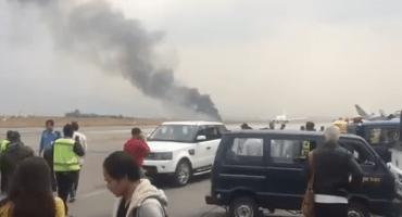 Reportan decenas de muertos tras un accidente de avión en Nepal