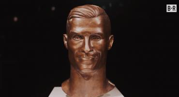 ¡Otra oportunidad! El escultor del mítico busto de Cristiano Ronaldo hizo una nueva versión