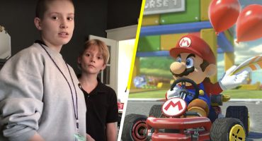 Este papá trolleó a su hija con su carta de aceptación por hacer trampa en Mario Kart 😂