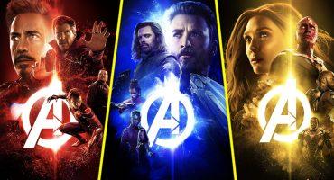 Mira los nuevos pósteres de 'Infinity War' con los colores de las Gemas del Infinito
