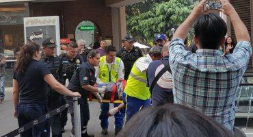 Balacera en Reforma 222; se reportan heridos