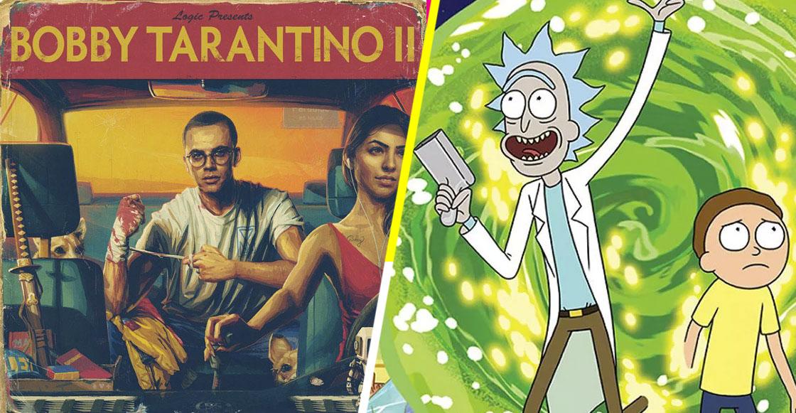 Wubba Lubba Dub Dub! Rick & Morty anuncian 'Bobby Tarantino II' el nuevo mixtape de Logic