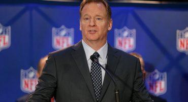 Roger Goodell corrió las 40 yardas en las oficinas de la NFL