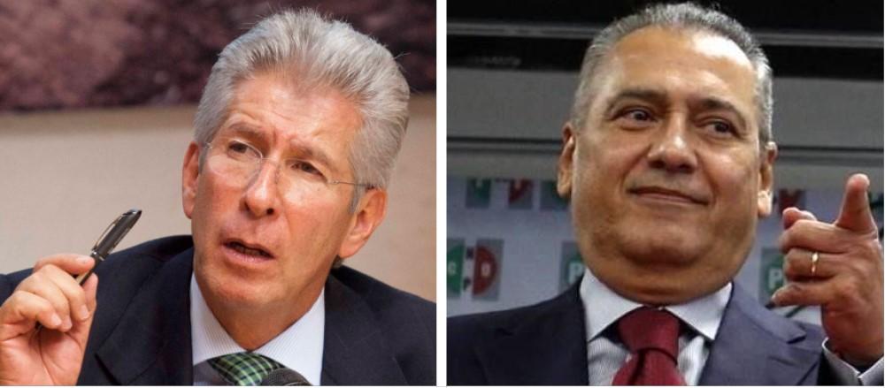 Gerardo Ruiz Esparza y Manlio Fabio Beltrones, PRI