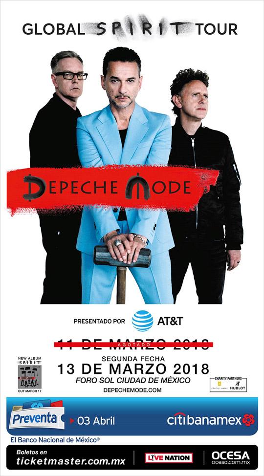 dinámica boletos depeche mode