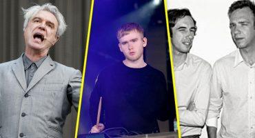 David Byrne, Mura MAsa y 2 Many DJ's se presentarán en la semana ceremonia