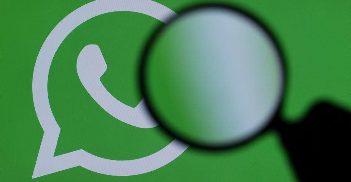 Lupa en whatsapp