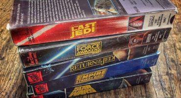 Así se verían las nuevas películas de Star Wars si hubieran salido en VHS