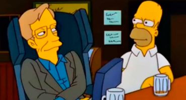 Recordemos cuando Stephen Hawking apareció por primera vez en Los Simpson 19 años atrás