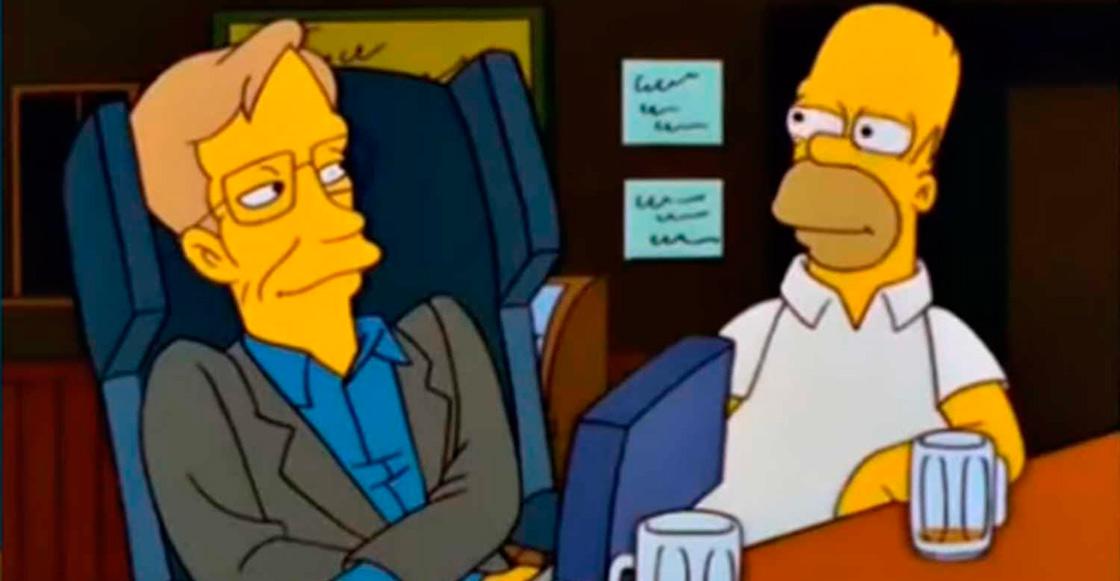Recordemos cuando Stephen Hawking apareció en Los Simpson 19 años atrás