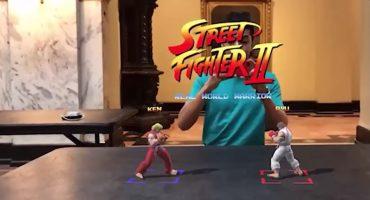 Hadouken! Alguien hizo una versión en Realidad Aumentada de Street Fighter II