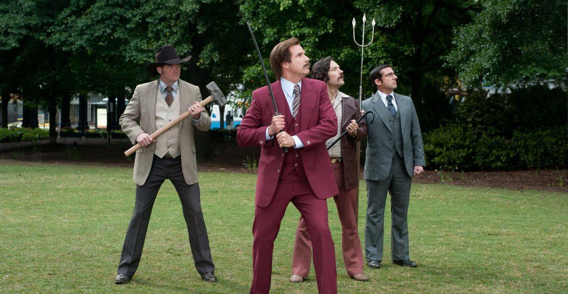 ¿Ron Burgundy se va a la guerra en 'Anchorman 3'?