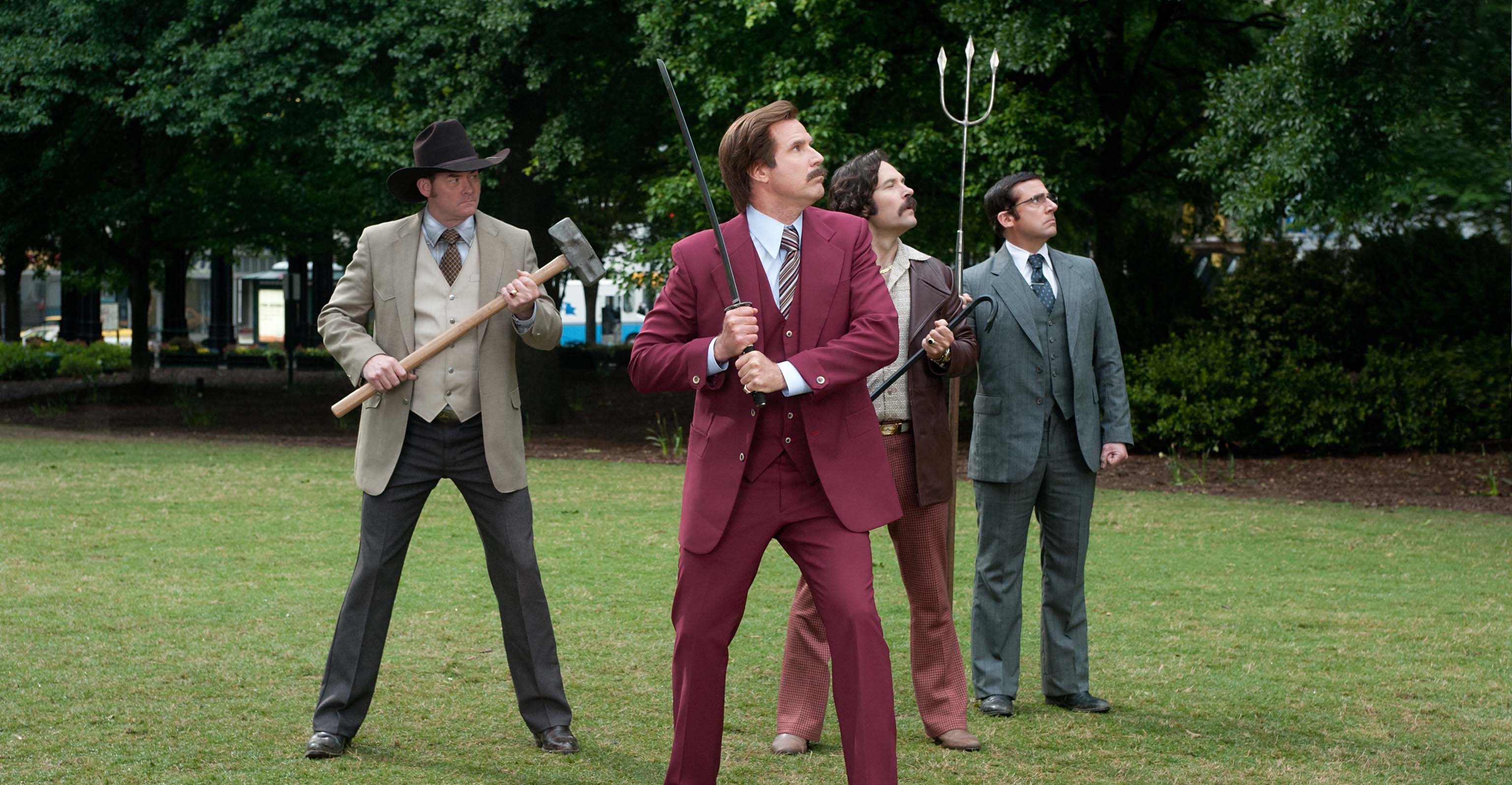 ¿Ron Burgundy se va a la guerra en 'Anchorman 3'?