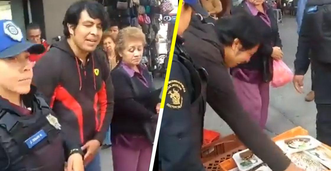 Combatiendo el crimen nivel: Policías detienen a vendedor de tortas en la GAM