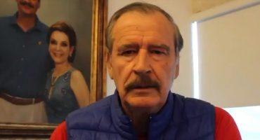 Señor, ya siéntese: Vicente Fox llama