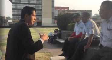Suspenden a los tres trabajadores que aparecen en el video que grabó un estudiante de Derecho