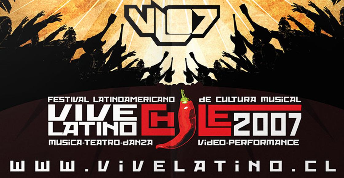 Hora de recordarlo: ¿Se acuerdan cuando el Vive Latino llegó a Chile?
