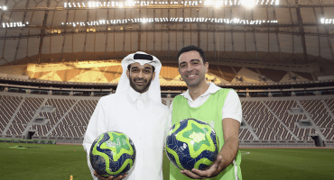 Qatar 2022 tendrá a Xavi como embajador