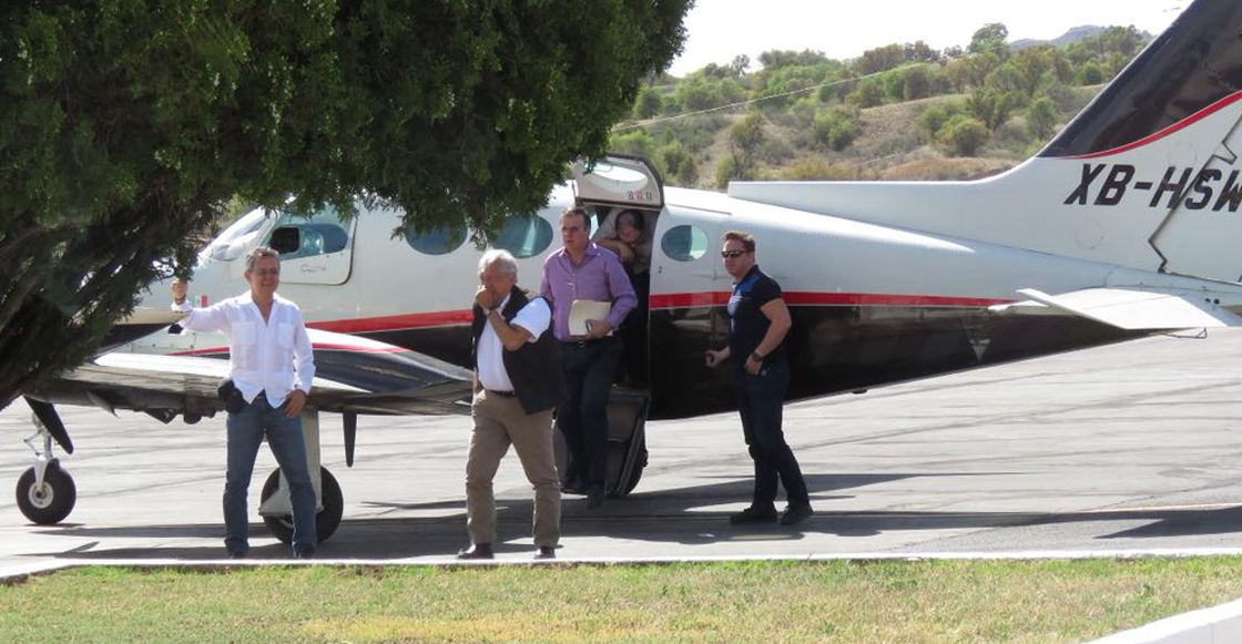 AMLO taxi aéreo