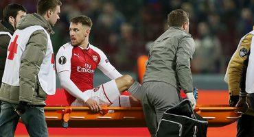 Aaron Ramsey demostró por qué es el 'Hombre de Hierro' del Arsenal