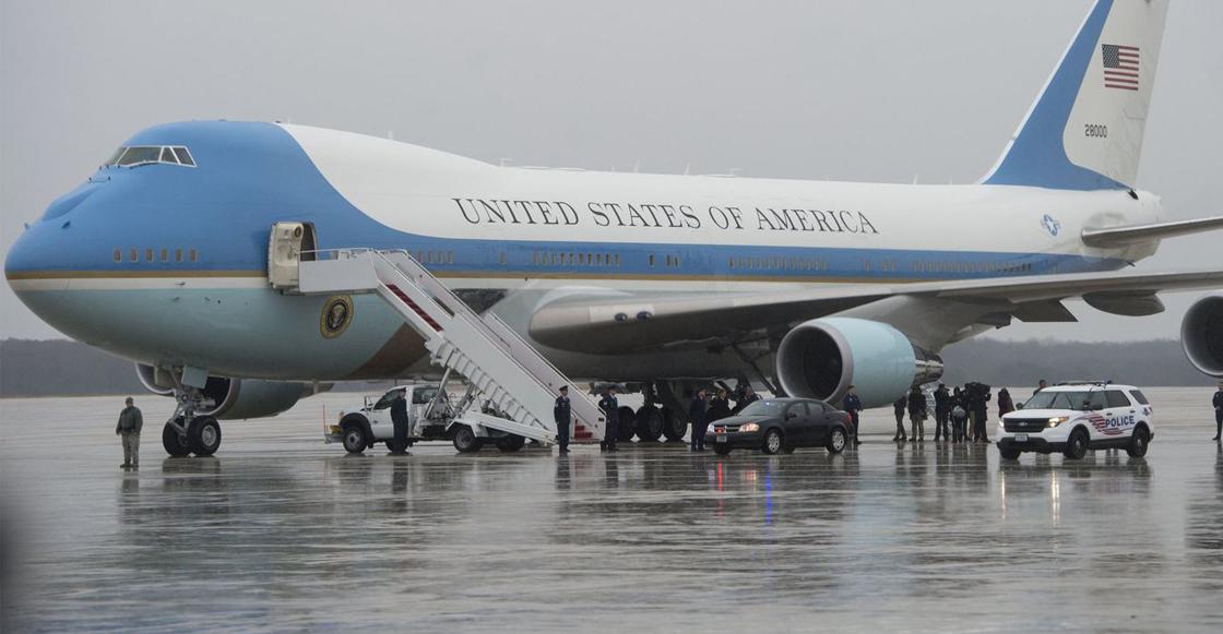 Air Force One, avión presidencial de Estados Unidos