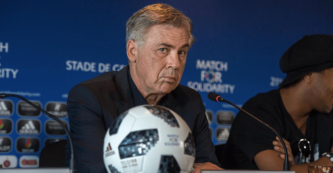 Carlo Ancelotti está muy cerca de la Selección de Italia