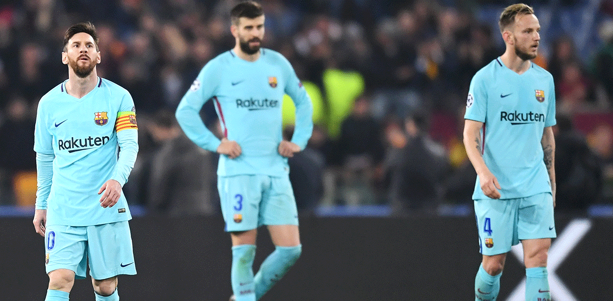 Barcelona eliminado