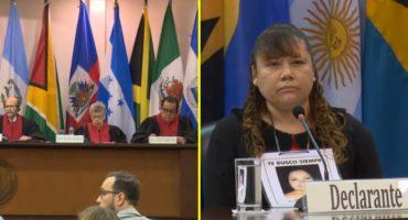 Corte Interamericana de Derechos Humanos discute caso de desaparición forzada en México