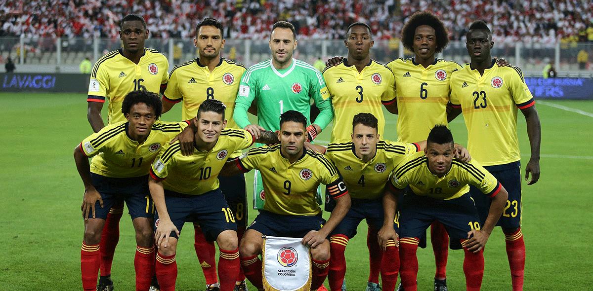 Colombia Rusia 2018