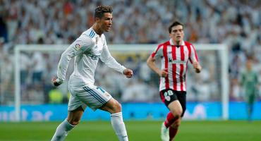 Una genialidad de Cristiano salvó al Madrid frente al Bilbao