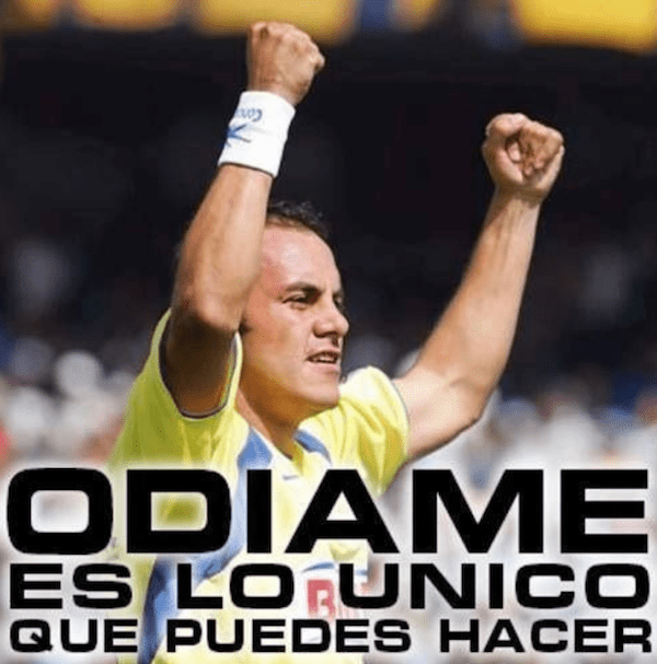 Cuauhtémoc Blanco América futbol