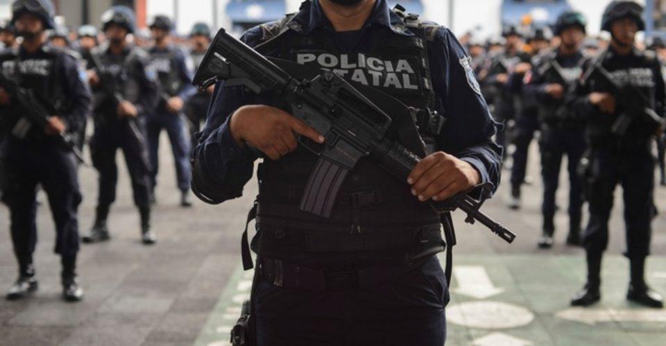 Elementos de la policía estatal