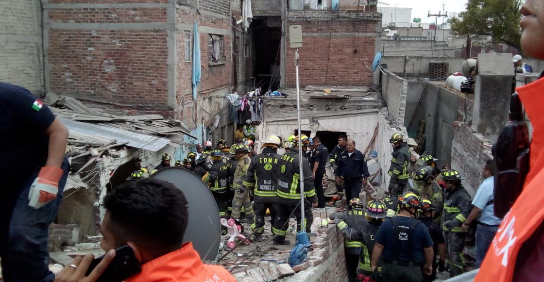 Explosión Iztacalco