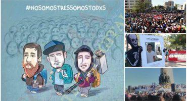 #NoSonTresSomosTodxs Exigen continuar con la búsqueda de Daniel, Marco y Salomón