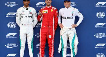 Sebastian Vettel se llevó la pole del Gran Premio de Azerbaiyán, Checo saldrá en octavo