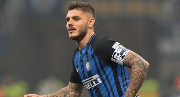Mauro Icardi hizo el 'blooper' del año en el derbi de Milán