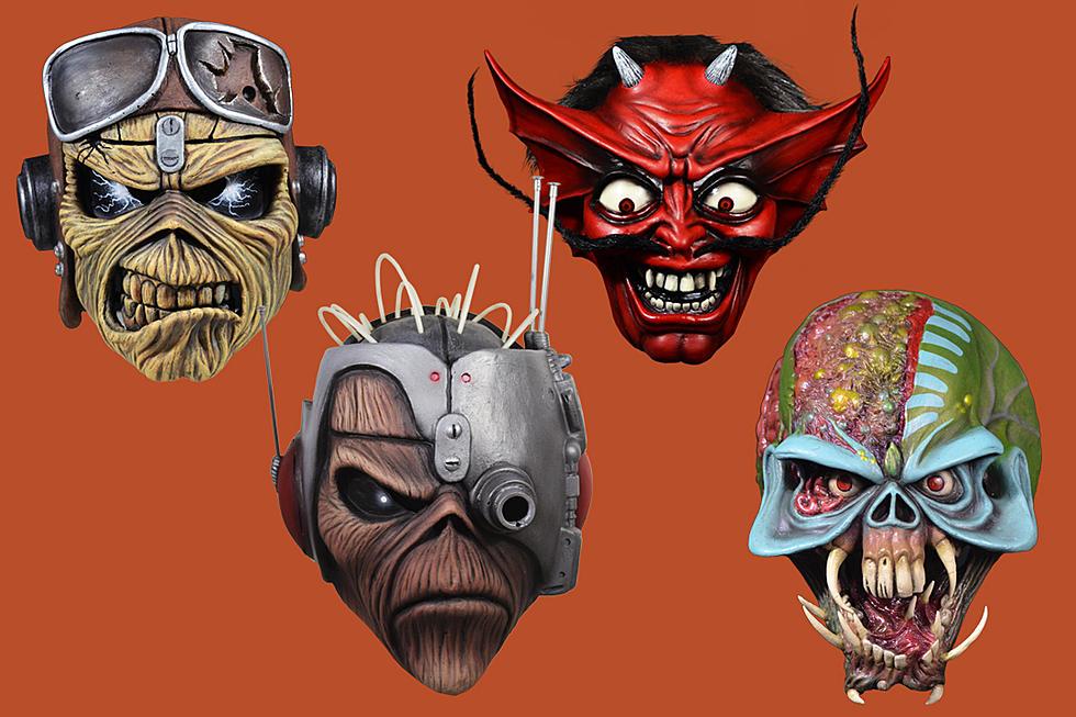 ¡Más a la colección! Iron Maiden comparte sus nuevas máscaras