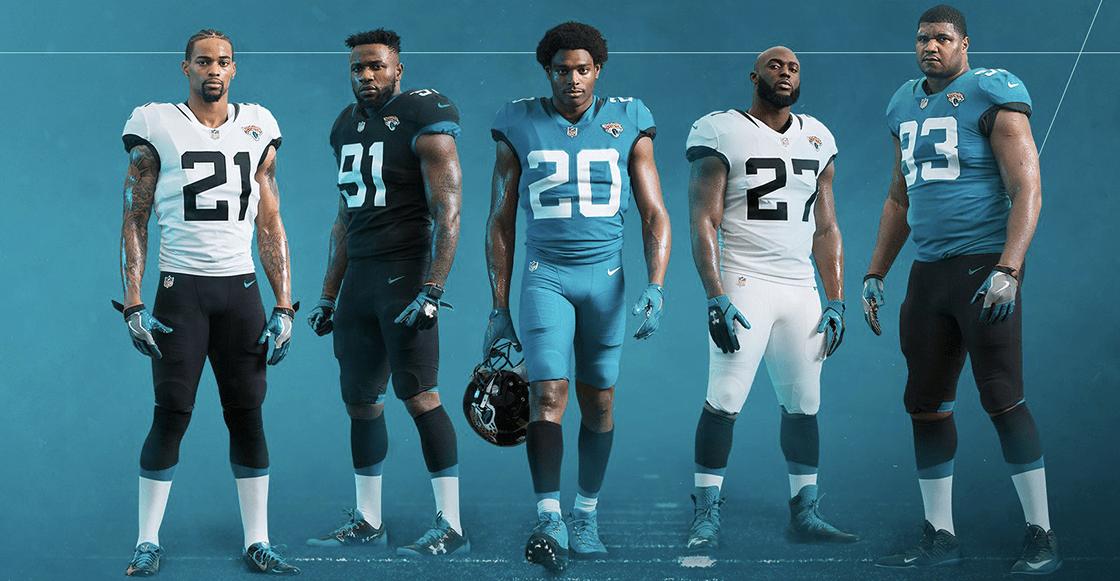 Dolphins Jaguars uniformes