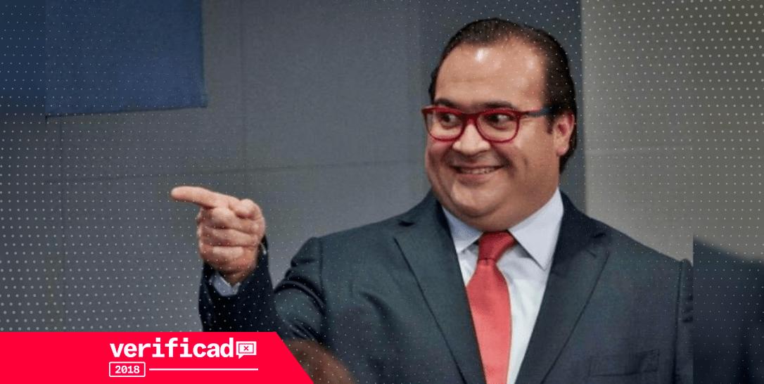 Javier Duarte ex gobernador de Veracruz
