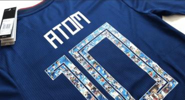 Japón lanzó jersey conmemorativo de 'Super Campeones' para Rusia 2018