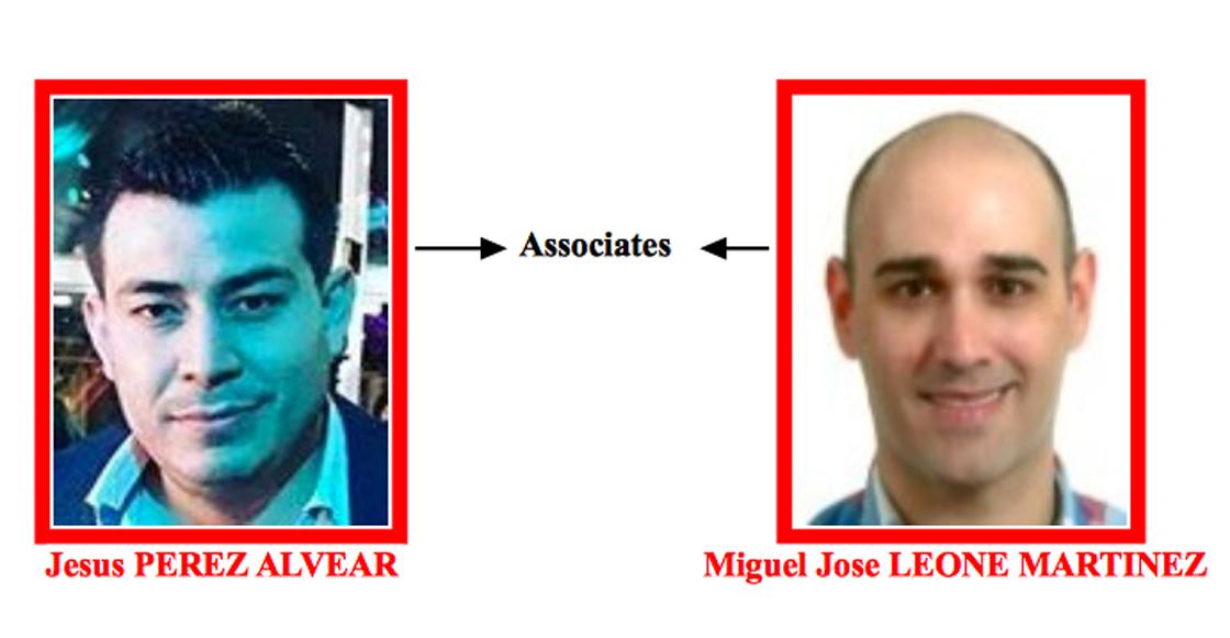 Jesus Pérez y Miguel Leone